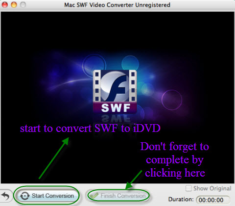mac swf to dvd conversion