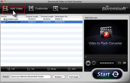add itunes video