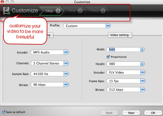 Customize Nikon D800 Video