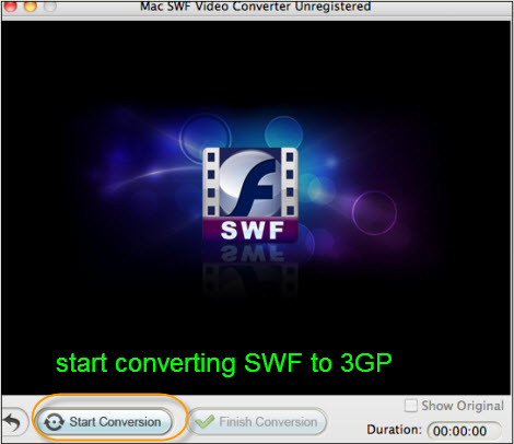 convert swf to 3gp mac