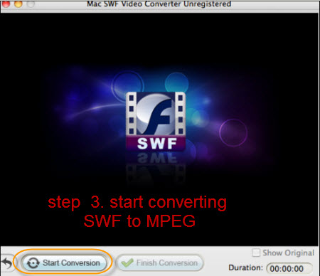 convert swf to mpeg