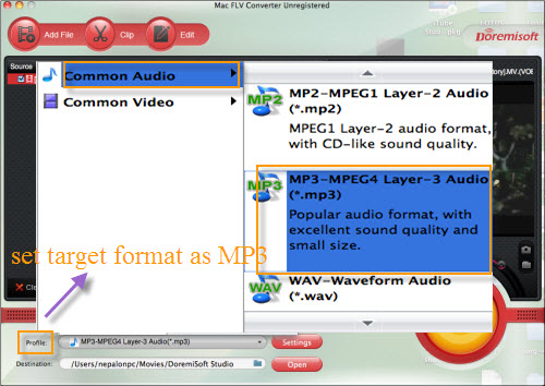 Mac Youtube to MP3 Converter convert/get YouTube video to MP3 OS X