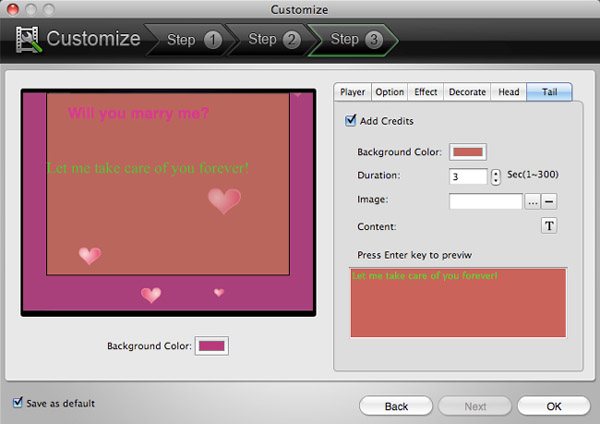 Customize & Make your own flashplayer
