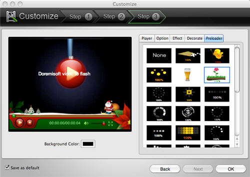export iMovie video to flash converter