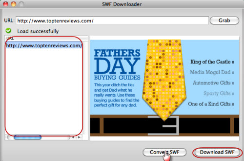 free swf downloader mac