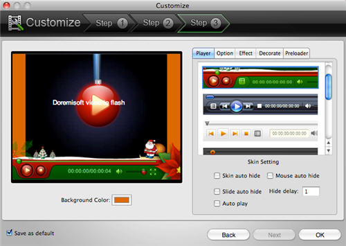 HD to Flash SWF/FLVConverter & embed HD video into your website and blog on Mac