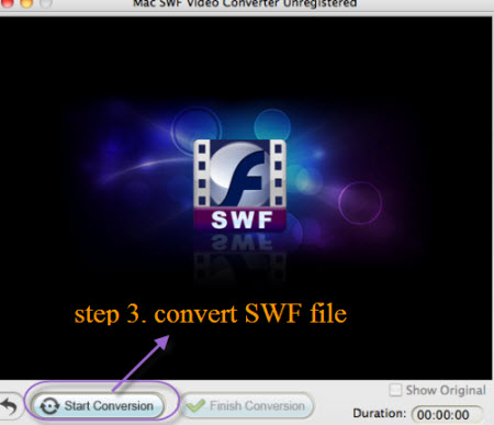 how to play swf files on ipad