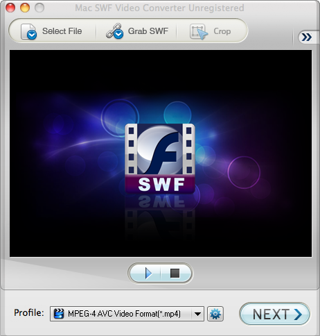 Mac SWF Converter Screenshot